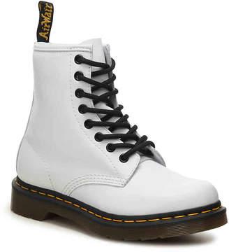 e58a98200210d Dr. Martens White Leather Sole Women's Boots - ShopStyle