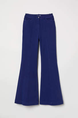 H&M Flare High Jeans - Blue