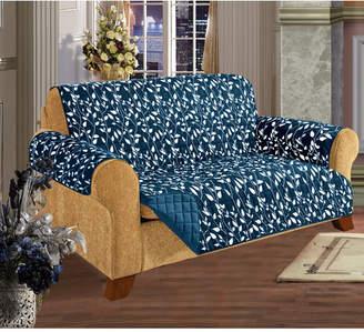 Elegant Comfort Box Cushion Sofa Slipcover