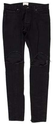 Fear Of God Distressed Skinny Jeans