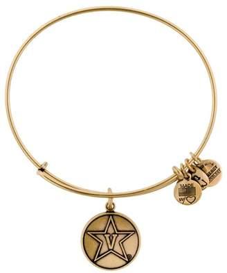 Alex and Ani Vanderbilt University Logo Charm Wire Adjustable Bracelet