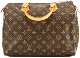 Louis Vuitton Monogram Canvas Speedy 30 Bag (Pre Owned)