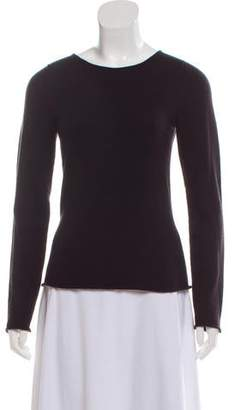 Lucien Pellat-Finet Cashmere Embellished Knit Sweater