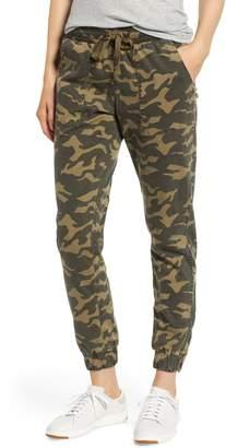 Kersh Camo Patch Pocket Jogger Stretch Cotton Pants