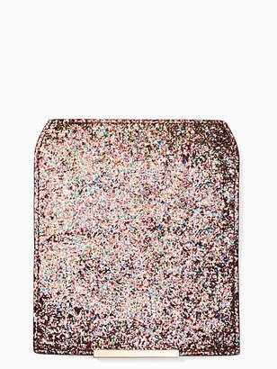 Kate Spade Make it mine glitter flap