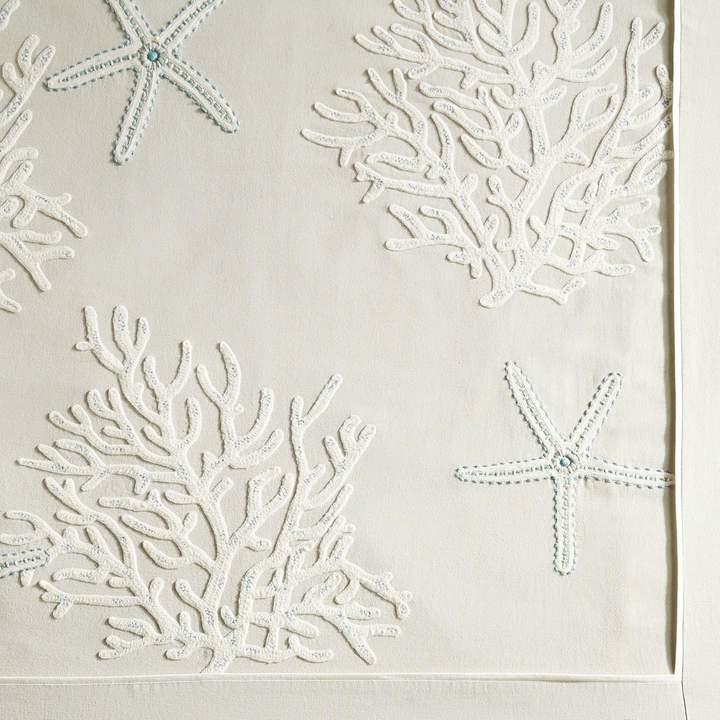 Martha Stewart Collection Hibiscus Medallion King Quilt