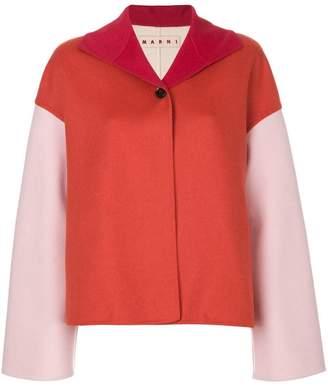 Marni two-tone boxy jacket
