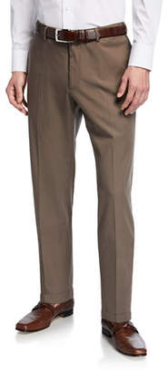 Incotex Micky Slim-Fit Stretch-Gabardine Dress Pants
