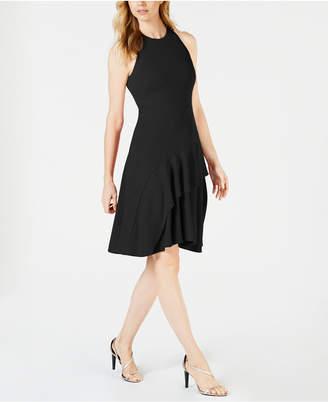 Calvin Klein Ruffled Fit & Flare Dress