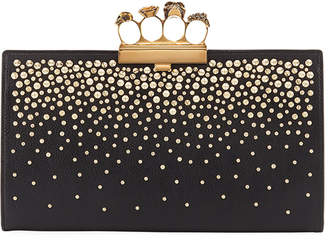 Alexander McQueen Knuckle Flat Pouch Clutch Bag