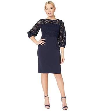 Lauren Ralph Lauren Claire Luxe Tech Crepe Dress
