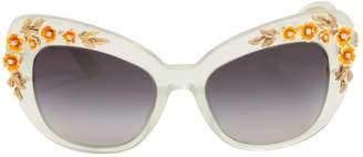 Dolce & Gabbana Blue Plastic Sunglasses