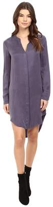 Splendid Washed Cupro Shirtdress Women's Dress
