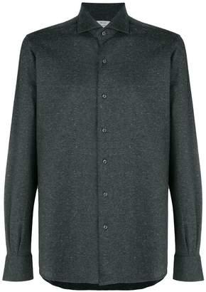 Orian mélange button shirt