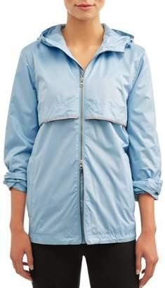 Climate Concepts Women's Hooded Windbreaker Jacket