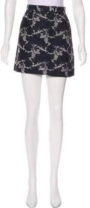 Timo Weiland Patterned Mini Skirt