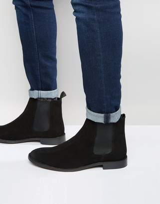 8478d3f45 Asos Design Chelsea Boots in Suede