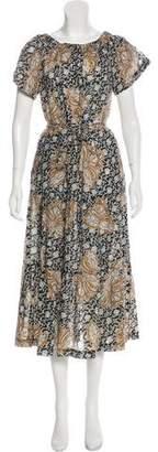 A.L.C. Off-The-Shoulder Midi Dress w/ Tags