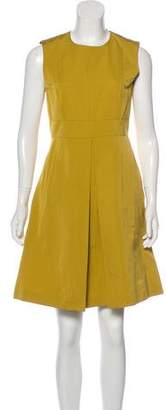 Max Mara 'S Pleated A-Line Dress
