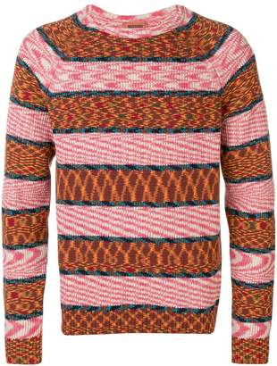 Missoni stripe pattern sweater