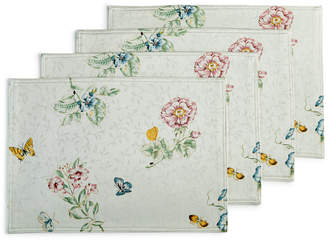 Lenox Set of 4 Butterfly Meadow Placemats