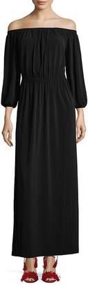 French Connection Women's Adele Drape Maxi Dress