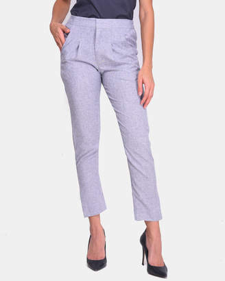 Linen Skinny Pants