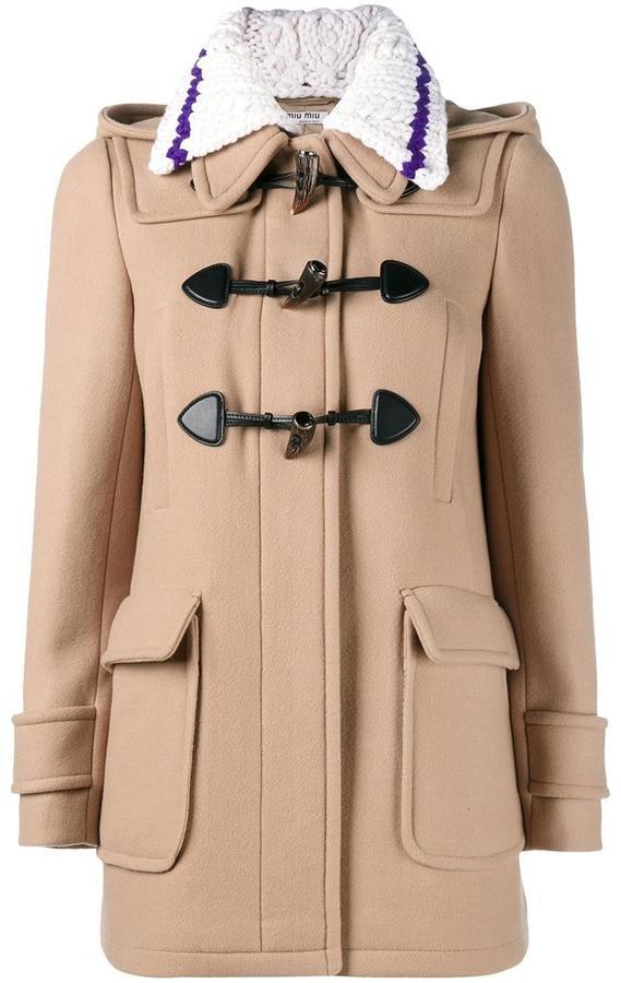 Miu MiuMiu Miu short duffle coat