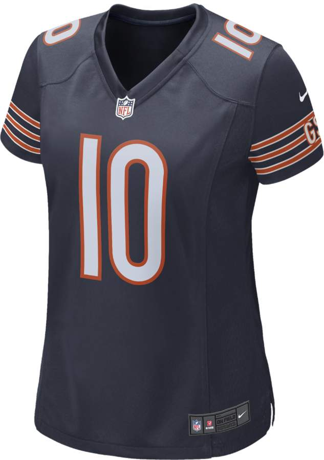 NFL Chicago Bears Home Game Jersey (Mitch Trubisky)