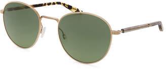 Barton Perreira Tudor Universal-Fit Round Sunglasses