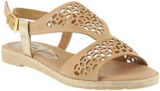 Spring Step Leather Sandals - Creshia