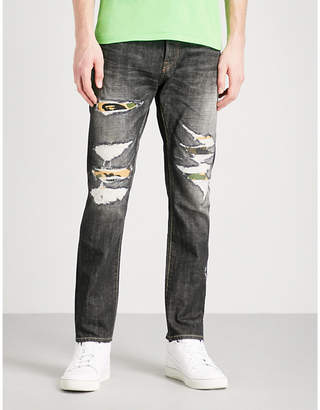 A Bathing Ape 1999 Type-02 regular-fit straight jeans