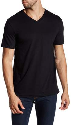 Public Opinion Short Sleeve V-Neck Tee