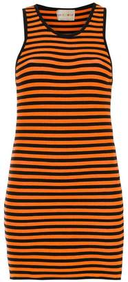 Andrea Bogosian slim fit striped dress