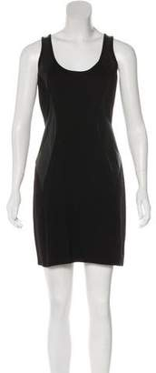 Under.ligne By Doo.ri Leather-Accented Bodycon Dress w/ Tags