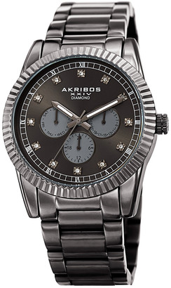Akribos XXIV Men's Diamond Watch