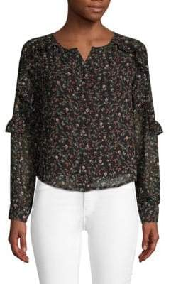 Lucca Couture Floral Button-Down Shirt
