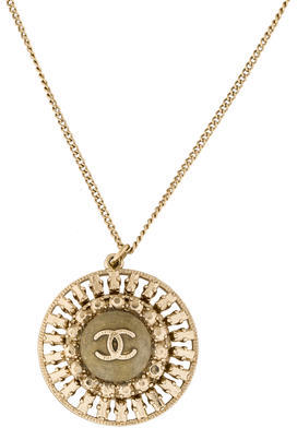 Chanel CC Pendant Necklace $795 thestylecure.com