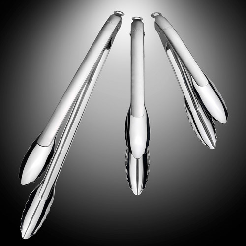 Rosle Stainless-Steel Locking Tongs