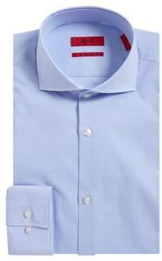 HUGO BOSS Jason Printed Slim-Fit Dress Shirt