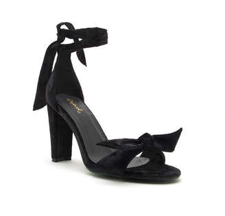 Qupid Womens Goodney-01 Heeled Sandals