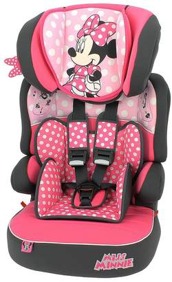 Disney Minnie Mouse Beline SP Group 123 High Back Booster Seat