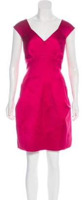 Marc Jacobs Sleeveless A-Line Dress Fuchsia Sleeveless A-Line Dress
