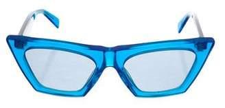 Celine 2018 Edge Cat-Eye Sunglasses