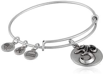 Alex and Ani Om Expandable Charm Bracelet, Rafaelian Silver-Tone