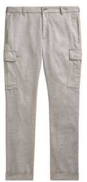 Ralph Lauren Purple Label Linen Cargo Trousers