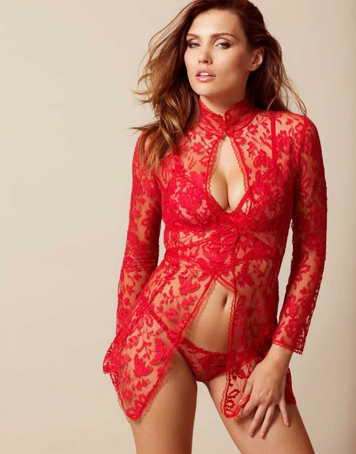 Agent Provocateur Denver Gown Red