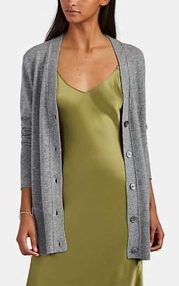 Nili Lotan Women's Lane Cashmere Cardigan - Med. Grey Melange