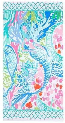 Pottery Barn Kids Lilly Pulitzer Mermaid Cove Beach Towel