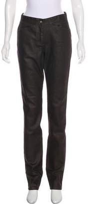 Donna Karan Mid-Rise Straight-Leg Jeans w/ Tags